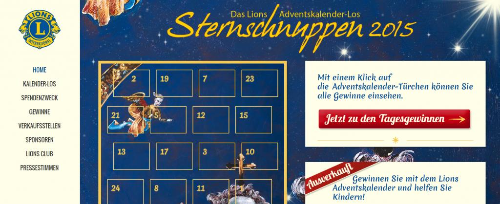 Webseiten Relaunch Lions 2015