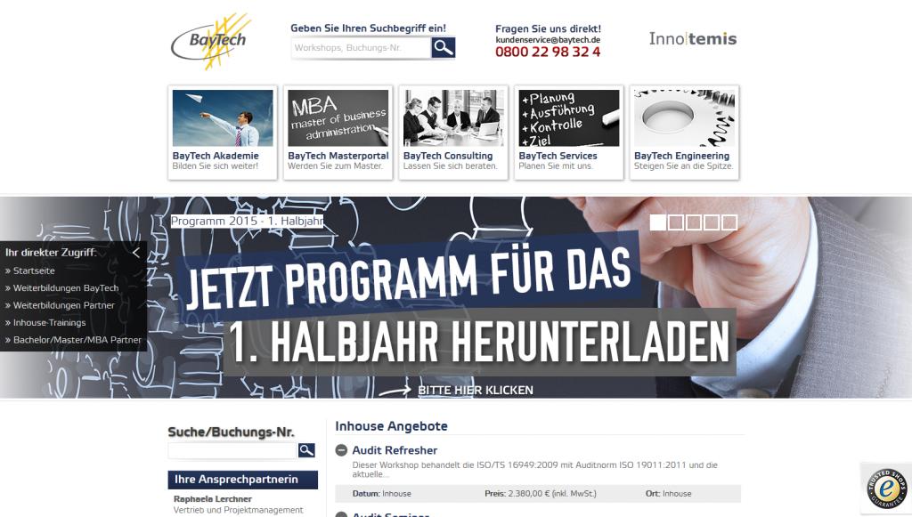 BayTech Programm