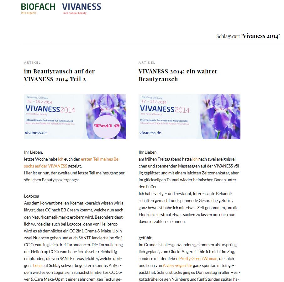 Biofach & Vivaness