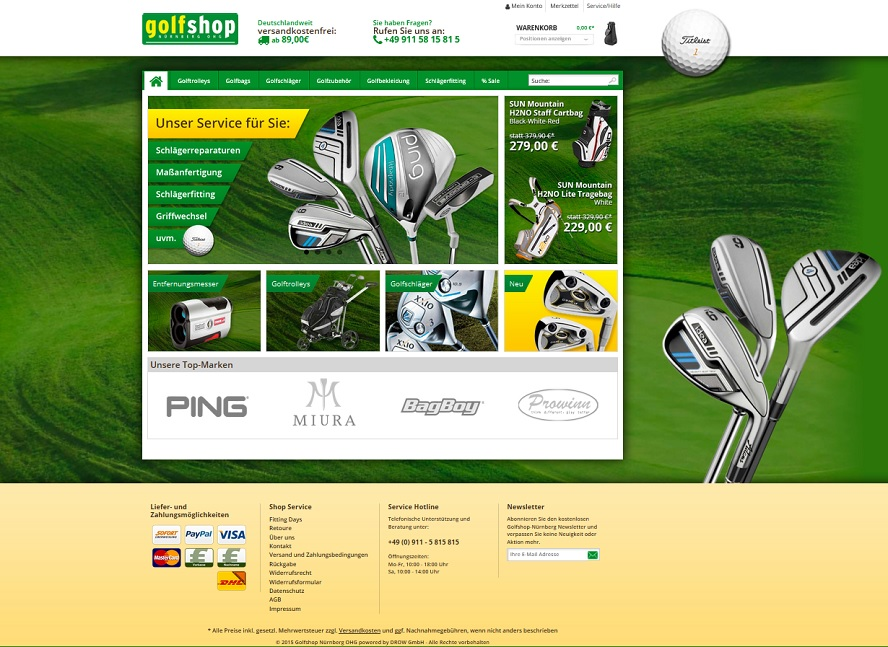 DROW_Golfshop_Relaunch_Shopware