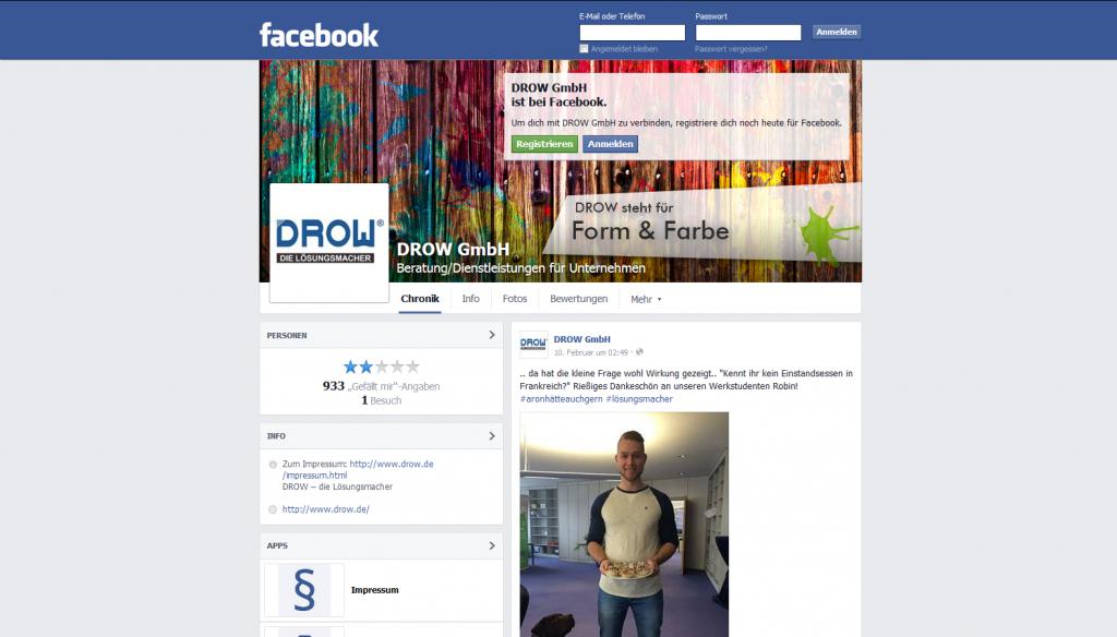 Facebook Drow