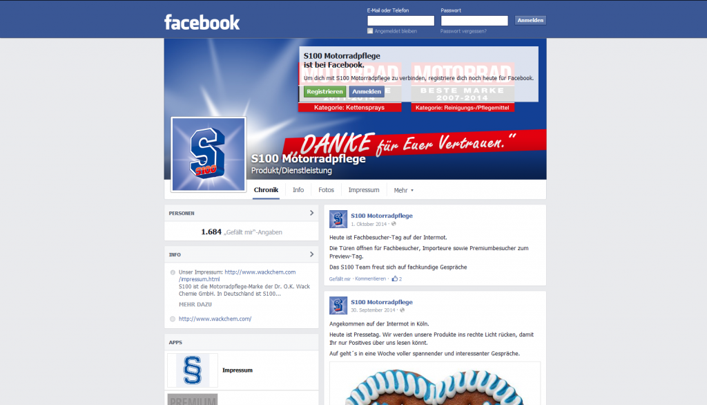 Facebook S100