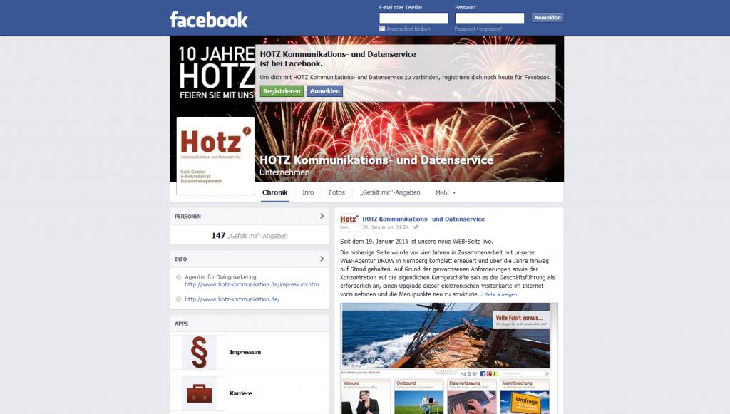 Hotz Facebook