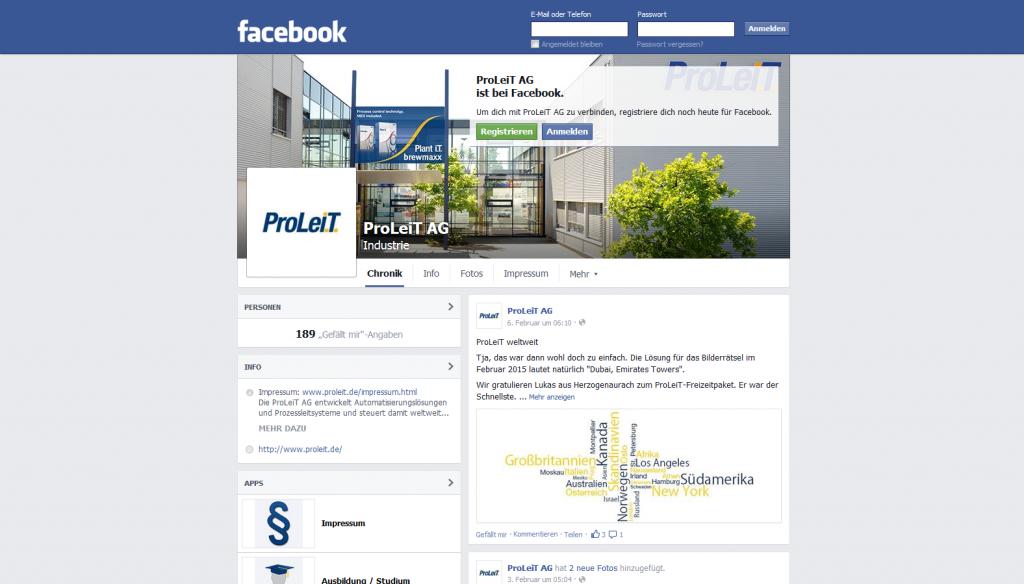 ProLeit Facebook