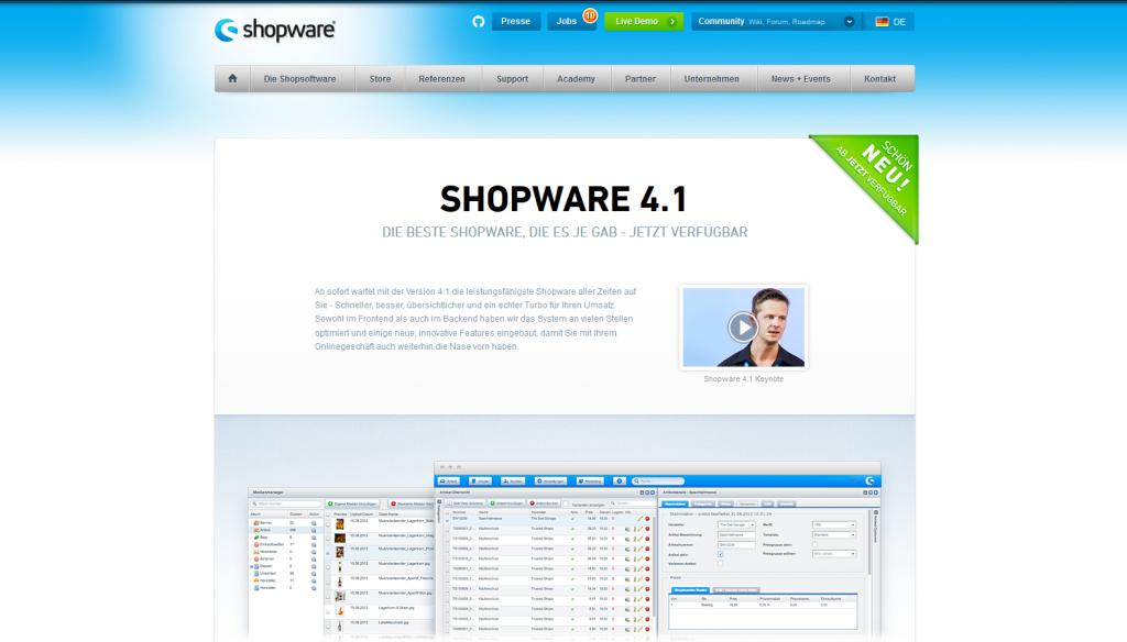 Shopware 4.1